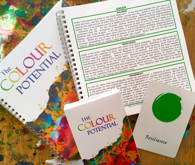 The Colour Potential Divination Card Deck & Handbook