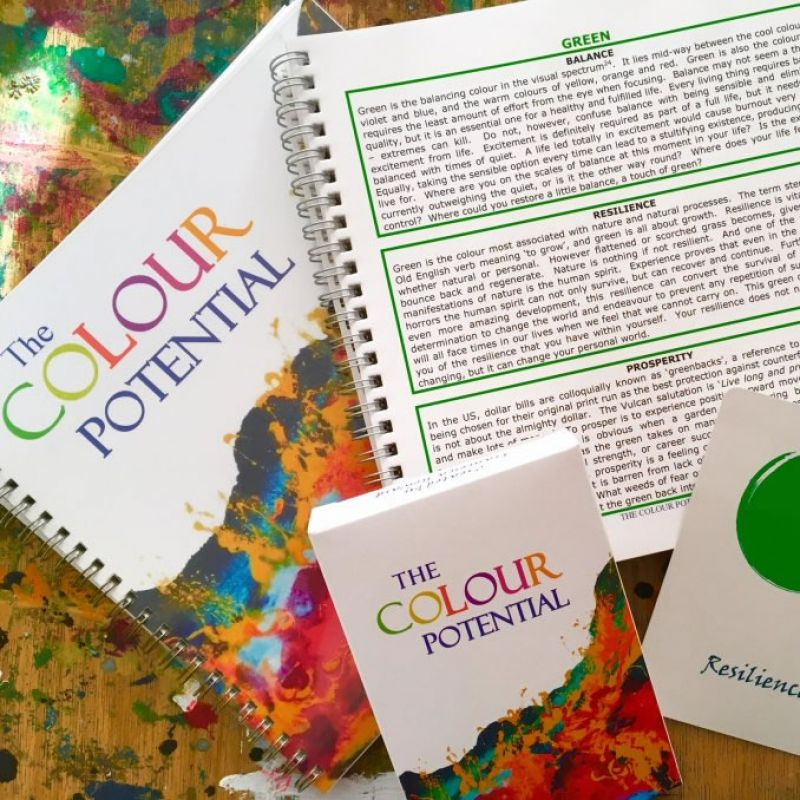 The Colour Potential Oracle Card Deck & Handbook